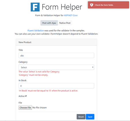 FormHelper