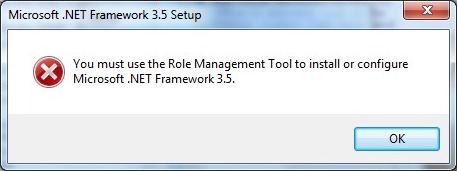 Framework 3.5 SP1 hata