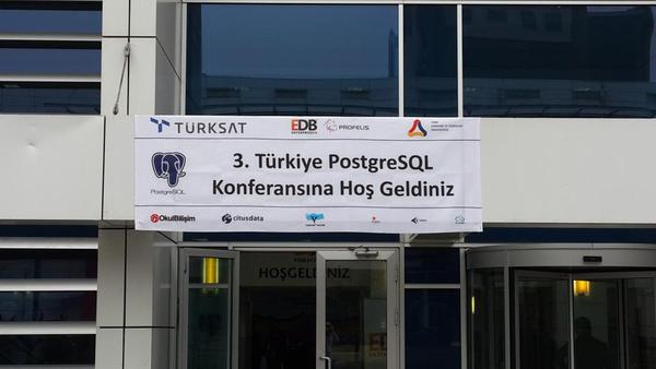 PGDAYTR - 3. Türkiye PostgreSQL Konferansı