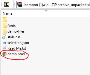 icomoon_demo